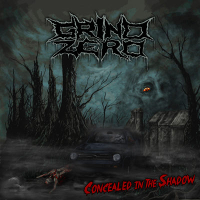Grind Zero - Concealed In The Shadow - Cover