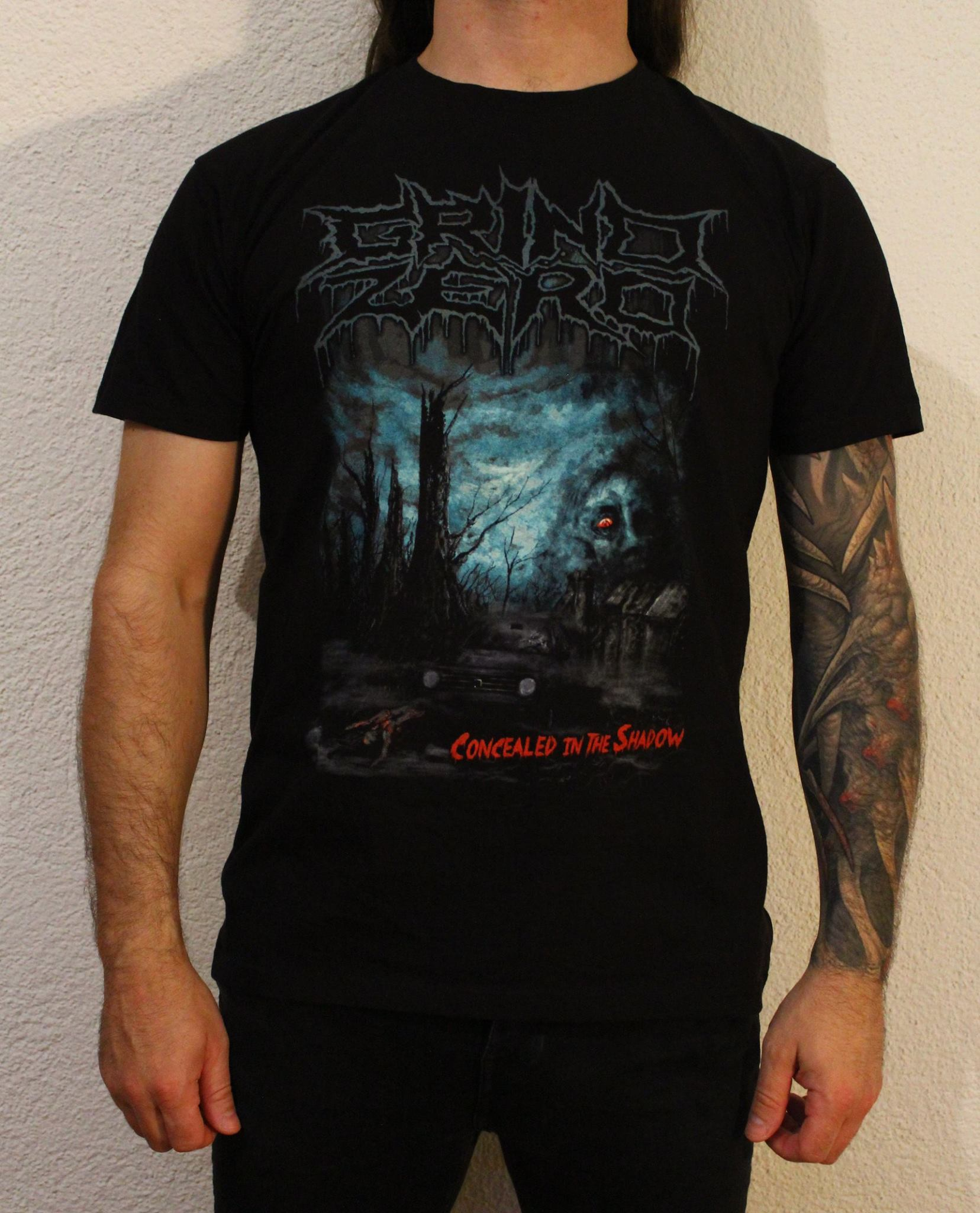 Grind Zero - Concealed In The Shadow Shirt