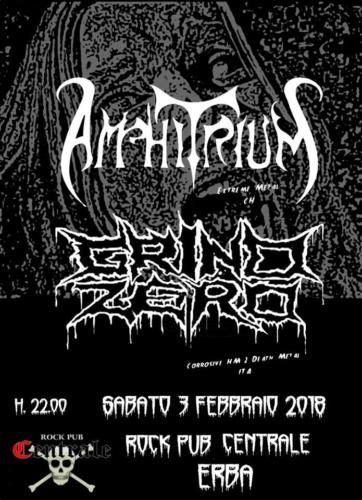 Centrale Rock Pub - Amphitrium - Grind Zero - 03/02/2018