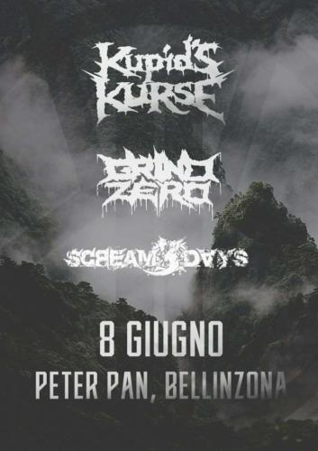 Pit Bellinzona - Kupid's Kurse - Grind Zero - Scream 3 Days - 08/06/2018